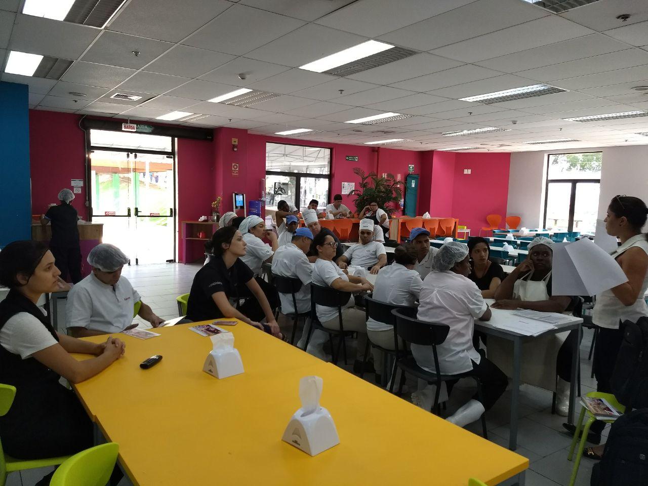 Visita Unidade Da Sapore Na Empresa Samsung Em Campinas Sintercamp