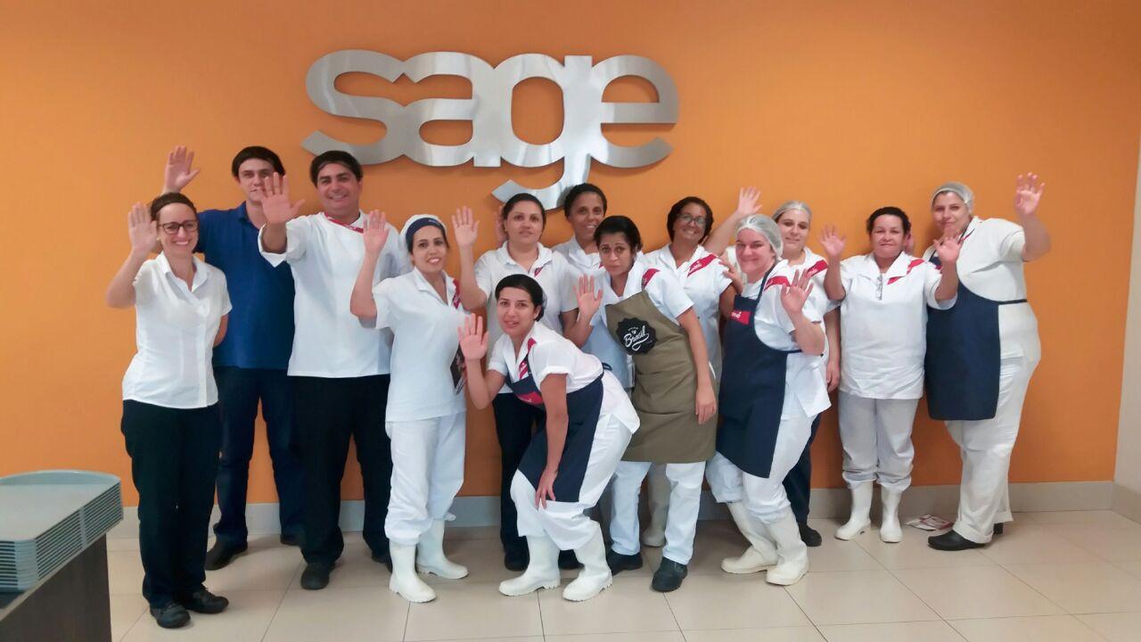 Visita Unidade Da Sodexo Na Empresa Sage Folhamatic Em Americana