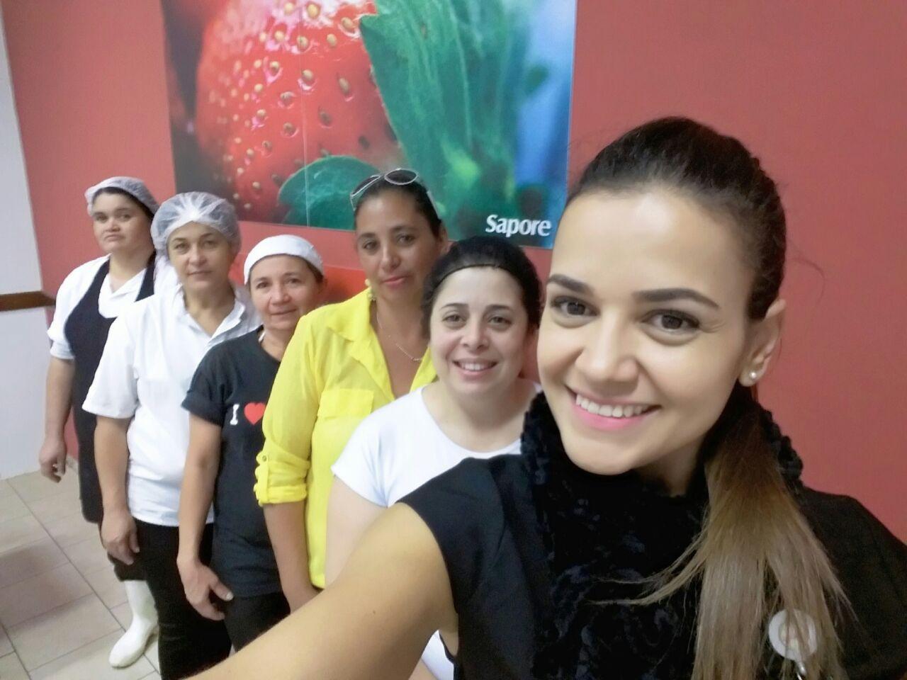 Visita Unidade Da Sapore Na Empresa Tinturaria Estamparia Primor