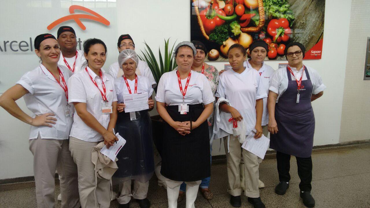 Visita As Trabalhadoras Da Unidade Sapore Empresa Arcelor Mittal