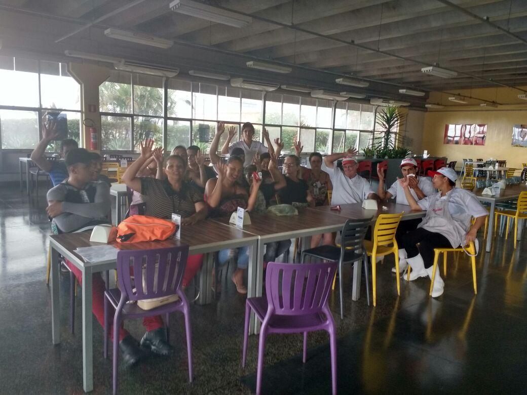 Visita Unidade Da Sapore Na Empresa Tecumseh Do Brasil Em S O