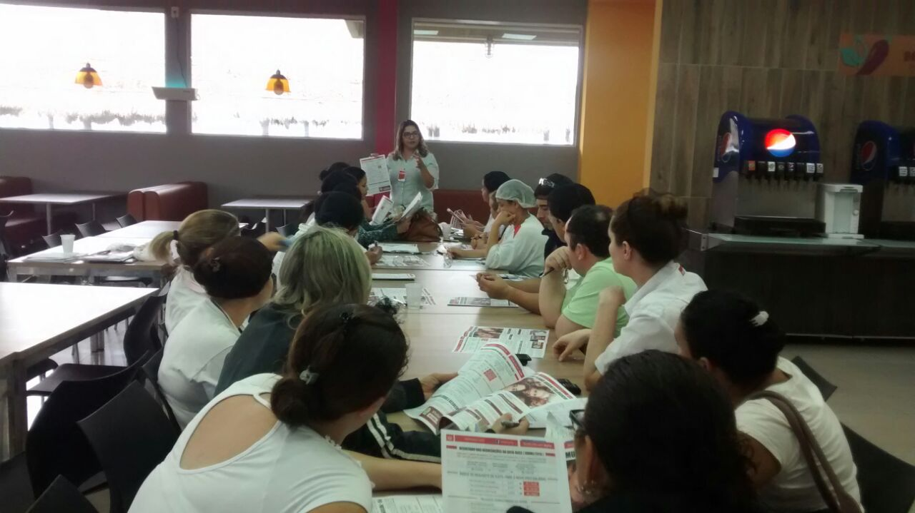 Visita Unidade Da Sodexo Na Empresa Ambev Em Jaguari Na Sintercamp
