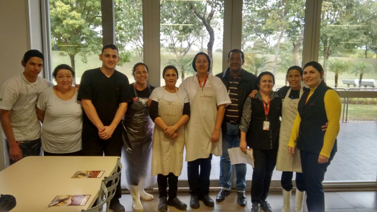 Visita Unidade Da Sapore Na Empresa Caterpillar Em Piracicaba